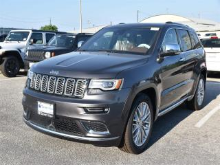 New 2018 Jeep Grand Cherokee Summit|4X4|NAV|APPLE CARPLAY|KEYLESS ENTRY for sale in Concord, ON