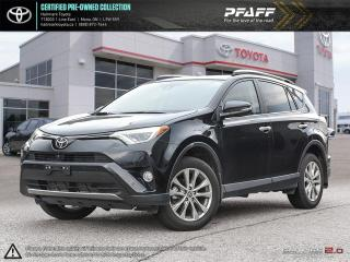 Used 2017 Toyota RAV4 AWD Limited FULLY LOADED LEATHER SUNROOF NAVI AND MORE for sale in Mono, ON