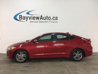 Used 2017 Hyundai Elantra GL - ALLOYS! HTD SEATS! A/C! REVERSE CAM! BLUETOOTH! for sale in Belleville, ON