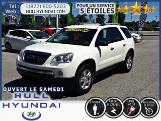 Used 2012 GMC Acadia Sle Awd, Très for sale in Gatineau, QC
