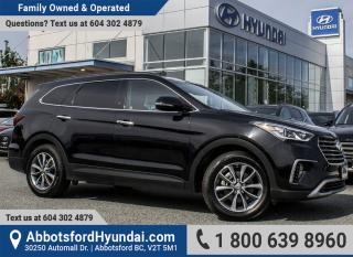 Used 2018 Hyundai Santa Fe XL Luxury BC OWNED for sale in Abbotsford, BC