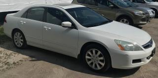 Used 2007 Honda Accord EX for sale in Barrie, ON