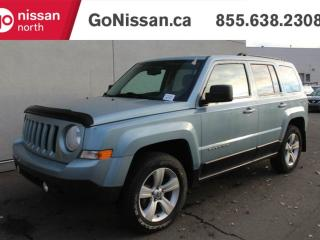 Used 2014 Jeep Patriot NORTH 4X4 MANUAL TRANSMISSION HEATED SEATS & MORE for sale in Edmonton, AB