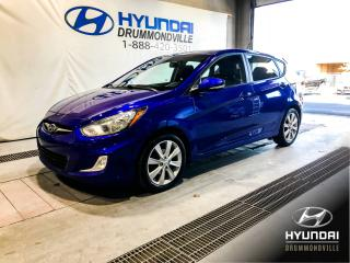 Used 2012 Hyundai Accent GLS + MAGS + TOIT + A/C + CRUISE + WOW ! for sale in Drummondville, QC