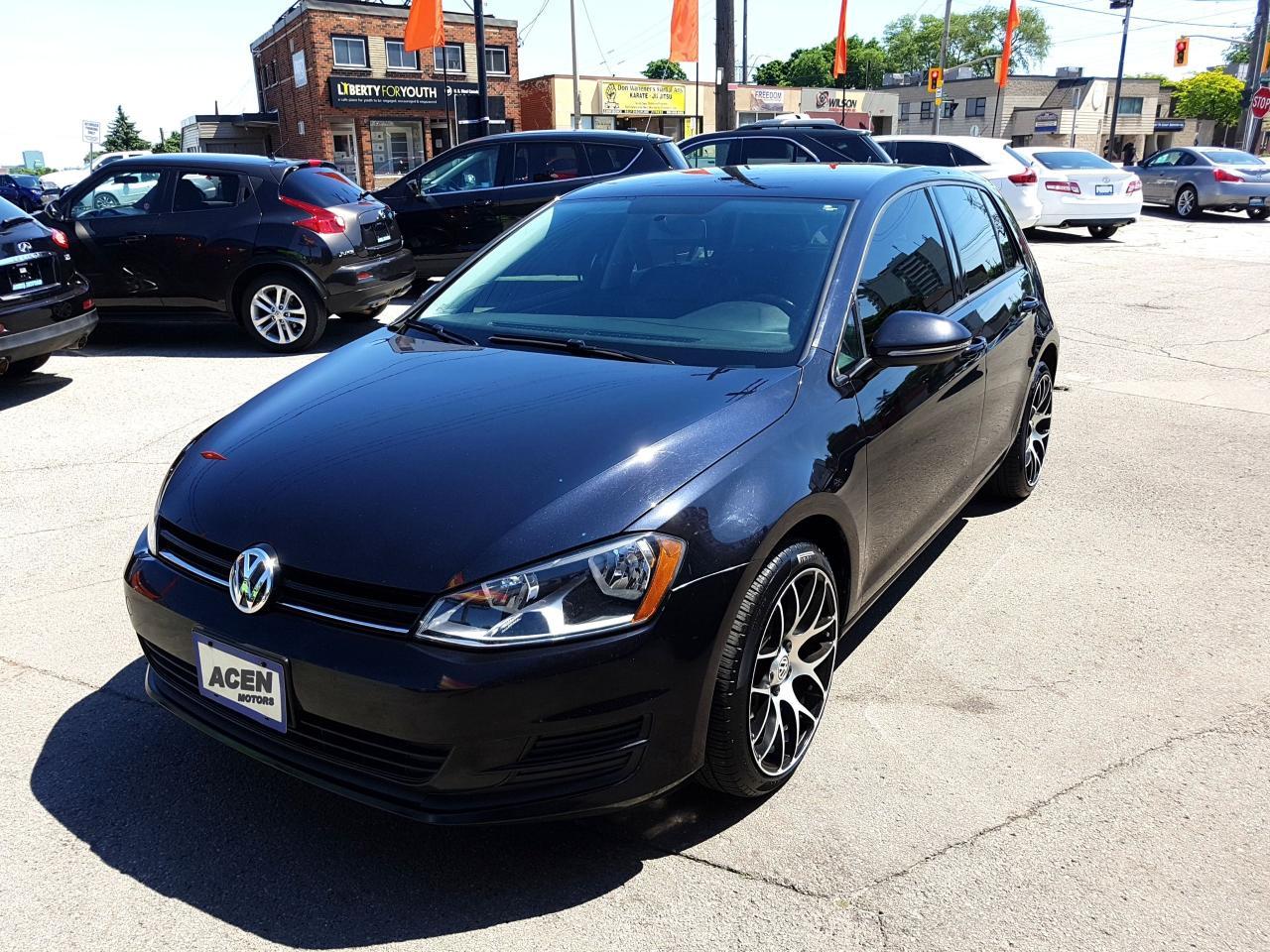 2016 Volkswagen Golf HB-LEATHER, ALLOY RIMS, BACKUP CAMERA.