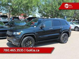 Used 2014 Jeep Grand Cherokee LIMITED; SUNROOF, LEATHER, 2 SETS OF TIRES, HEATED SEATS/WHEEL for sale in Edmonton, AB