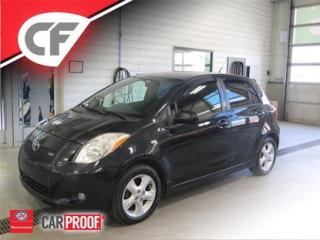 Used 2007 Toyota Yaris Le/rs for sale in Levis, QC