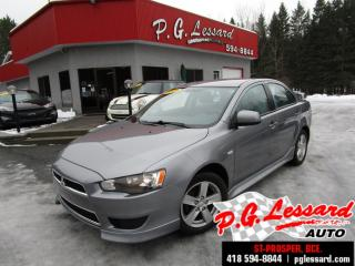 Used 2014 Mitsubishi Lancer SE AWC traction intégrale 2.4L 168 H/P for sale in St-Prosper, QC