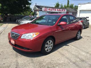 Used 2009 Hyundai Elantra 1 Owner/Accident Free/Automatic/Heated Seats for sale in Scarborough, ON