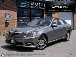 Used 2010 Mercedes-Benz E550 E550 4Matic *NAVI, CAM, BLIND SPOT, PANO ROOF* for sale in Scarborough, ON