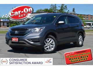 Used 2015 Honda CR-V SE AWD REAR CAM HTD SEATS ALLOYS BLUETOOTH for sale in Ottawa, ON