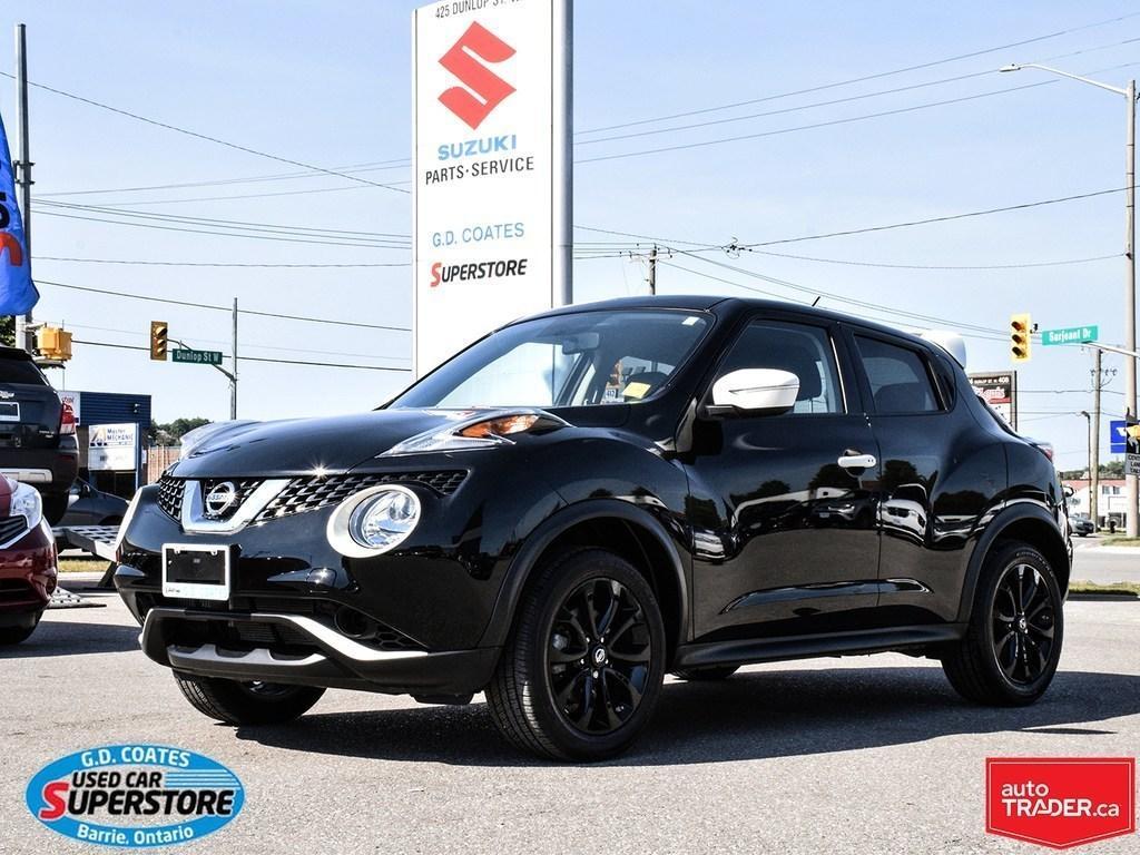 Used 2017 Nissan Juke SV Black Pearl AWD ~Heated Seats ~Backup ...