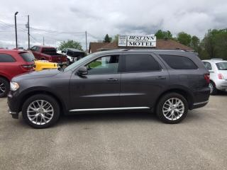 Used 2016 Dodge Durango Limited* Loaded!  3rd row seating!!!!! for sale in Smiths Falls, ON