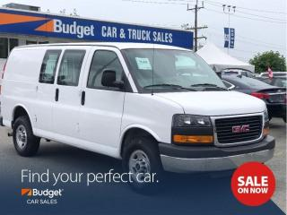 Used 2016 GMC Savana Heavy Duty Cargo Van, Only 13,557 Kms for sale in Vancouver, BC