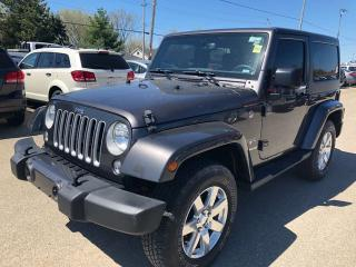 Used 2016 Jeep Wrangler Sahara for sale in Smiths Falls, ON