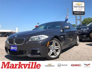 Used 2013 BMW 5 Series 535i XDRIVE-CERTIFIED PRE-OWNED. for sale in Markham, ON