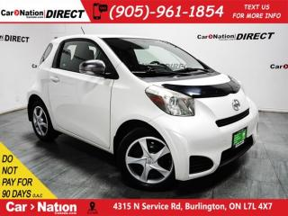 Used 2012 Scion iQ | LOW KM'S| WE WANT YOUR TRADE| for sale in Burlington, ON