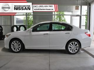Used 2015 Honda Accord Sedan Touring V6  - $141.28 B/W for sale in Mississauga, ON