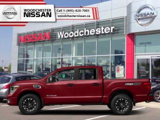 New 2018 Nissan Titan PRO-4X Crew  - $359.14 B/W for sale in Mississauga, ON