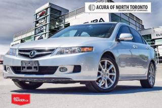 Used 2007 Acura TSX 5 SPD at Accident Free| Heated Seat for sale in Thornhill, ON