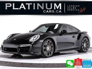 Used 2014 Porsche 911 Turbo S, AWD, 560HP, PDK,CERAMIC BRAKES,SPORTS CHR for sale in Toronto, ON