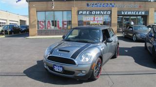 Used 2010 MINI Cooper S PANO ROOF/NAVI/HEATED SEATS for sale in North York, ON