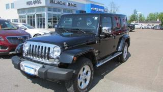 Used 2014 Jeep Wrangler Unlimited Sahara for sale in Arnprior, ON
