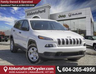 Used 2017 Jeep Cherokee Sport *NEW DEMO W/ LESS THAN 1000 KM* for sale in Abbotsford, BC
