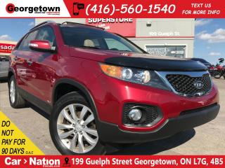 Used 2011 Kia Sorento EX V6 |AWD |NAVI | LEATHER |PANO ROOF |BACK UP CAM for sale in Georgetown, ON