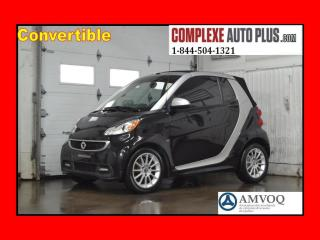Used 2013 Smart fortwo Passion Cabriolet for sale in Saint-jerome, QC