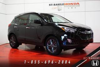 Used 2015 Hyundai Tucson GLS + GARANTIE + CUIR + TOIT OUVRANT + W for sale in St-Basile-le-Grand, QC