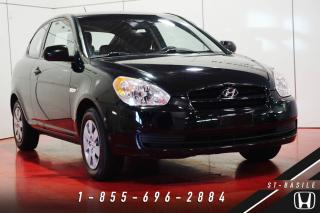 Used 2010 Hyundai Accent L + BEAU / BON / PAS CHER + AUTOMATIQUE! for sale in St-Basile-le-Grand, QC