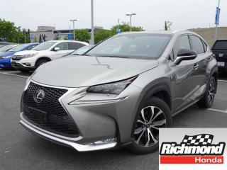 Used 2015 Lexus NX 200t 6A for sale in Richmond, BC