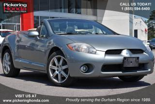 Used 2007 Mitsubishi Eclipse Spyder GT-P Clean CarProof|One Owner|Keyless Entry for sale in Pickering, ON