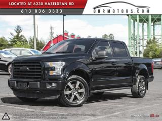 Used 2016 Ford F-150 Sport SuperCrew 4WD for sale in Stittsville, ON