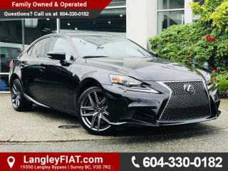 Used 2014 Lexus IS 350 B.C OWNED! for sale in Surrey, BC
