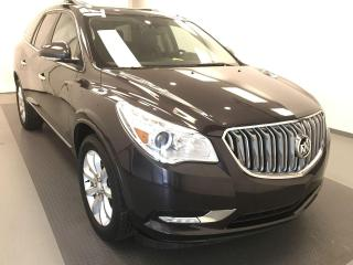 Used 2015 Buick Enclave Premium HEATED & COOLED LEATHER, 5 PASSENGER, AWD for sale in Lethbridge, AB