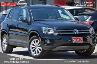 Used 2017 Volkswagen Tiguan Wolfsburg Edition Bluetooth Rearview Camera Former Rental for sale in Whitby, ON