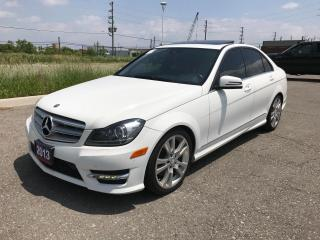 Used 2013 Mercedes-Benz C350 4MATIC | NAVI | BACK UP CAM | BLUETOOTH for sale in Brampton, ON