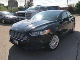 Used 2016 Ford Fusion S Hybrid for sale in Brampton, ON