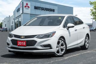 Used 2018 Chevrolet Cruze LEATHER |WIFI|HTD STEERING|STARTER|CLEAN HISTORY| for sale in Mississauga, ON
