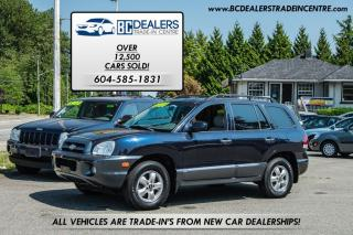 Used 2005 Hyundai Santa Fe GLS 4x4, Loaded, Low K, Leather, Sunroof! for sale in Surrey, BC