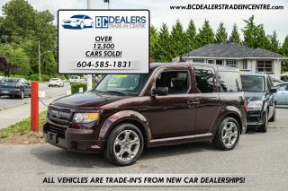 Used 2007 Honda Element SC Street Cruiser, Root Beer, iVTEC, Local, Loaded for sale in Surrey, BC