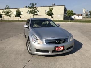 Used 2008 Infiniti G35X G35x,  AWD, Leather, Sunroof, 3/Y warranty availa for sale in North York, ON