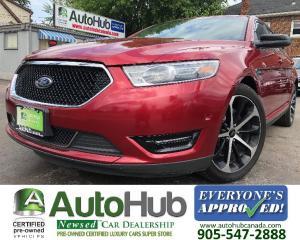 Used 2015 Ford Taurus SHO-NAV-BACKUP CAMERA-SUNROOF-AWD for sale in Hamilton, ON