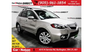 Used 2010 Acura RDX w/Technology Package| AWD| NAVI| SUNROOF| for sale in Burlington, ON
