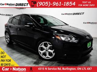 Used 2014 Ford Focus | NAVI| SUNROOF| LEATHER| for sale in Burlington, ON