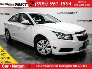 Used 2013 Chevrolet Cruze LT| BACK UP CAMERA| LOCAL TRADE| for sale in Burlington, ON