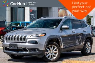 Used 2017 Jeep Cherokee Limited AWD|Luxury,TrailerTow,SafetyTec.Pkgs|18