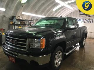 Used 2012 GMC Sierra 1500 SL*EXTCAB*4WD*V8 4.8L*SIDE STEPS*TONNEAU COVER*HOOD DEFLECTOR/RAIN GUARDS*FENDER FLARES**HITCH RECEIVER*FRONT TOW HOOKS*CLIMATE CONTROL*CRUISE CONTROL for sale in Cambridge, ON
